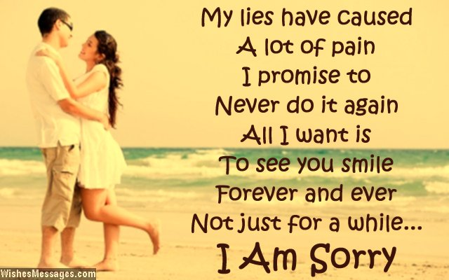 Sorry Status for Girlfriend – Short Apology Quotes for Her