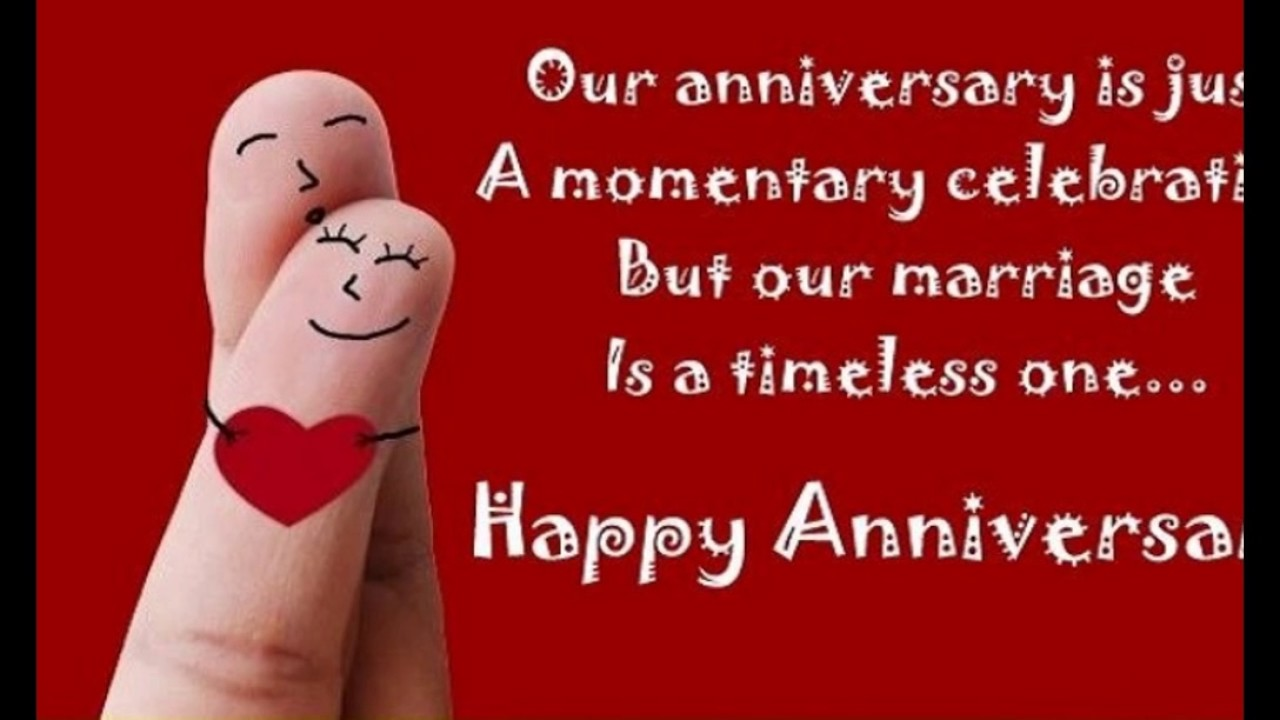 Wedding Anniversary Facebook, Whatsapp and Instagram Status